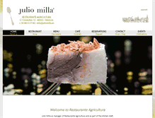 Tablet Preview of juliomilla.es